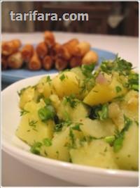 Dereotlu Patates Salatası