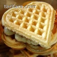 Vanilyalı Waffle