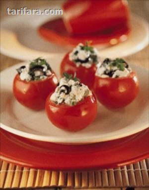 Peynirli Domates Sepeti