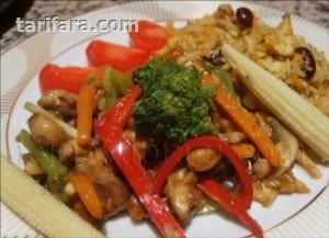 Çin Usulü Sebzeli Tavuk