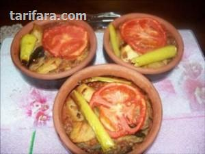 Güveçte Patlıcan