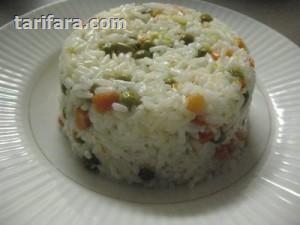 Parça Etli Bezelyeli Pirinç Pilavı