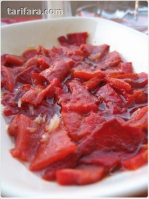 Kırmızı Biber Kızartma