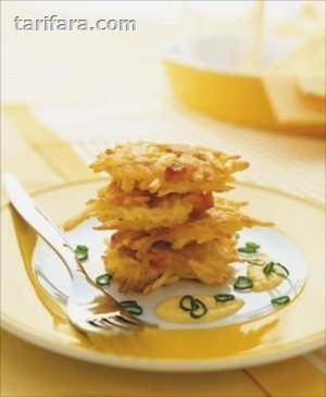 Peynirli Patatesli Mücver