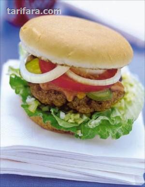 Salatalı Hamburger