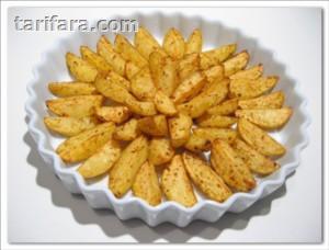 Fırında Kabuklu Patates