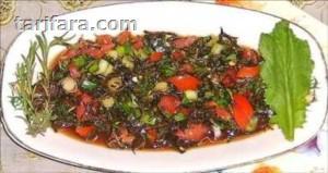 Taze Zahter (Kekik) Salatası