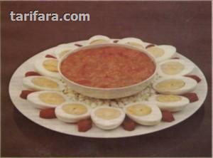 Domatesli Haşlanmış Yumurta