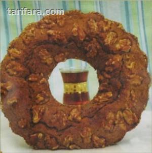 Ceviz Mantolu Çaylı Kek