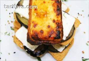 Sarımsaklı Ekmek ile Patlıcanlı Keçi Peyniri