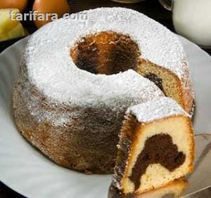 Kakaolu Vanilyalı Kek