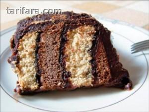 Bisküvili Kiremit Pasta