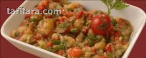 Antep Usulü Patlıcan Salatası