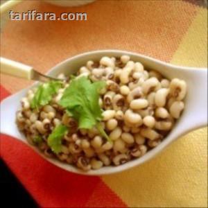 Tahinli Fasulye Salatası