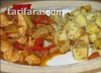 Patatesli Tavuk Sote