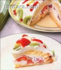 Çilekli Kivili Pasta