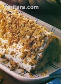 Balkabağı Piramit Pasta