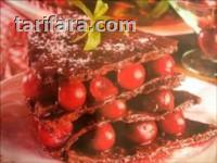 Vişneli Bisküvi Pastası