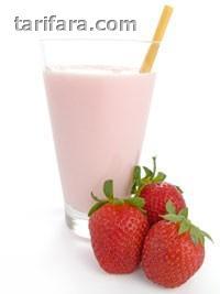 Çilekli Milkshake