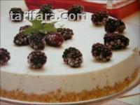 Beyaz Çikolatalı ve Dutlu Pasta